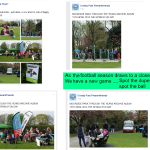 Moorside Park Easter Funday - Great Event... but sad!